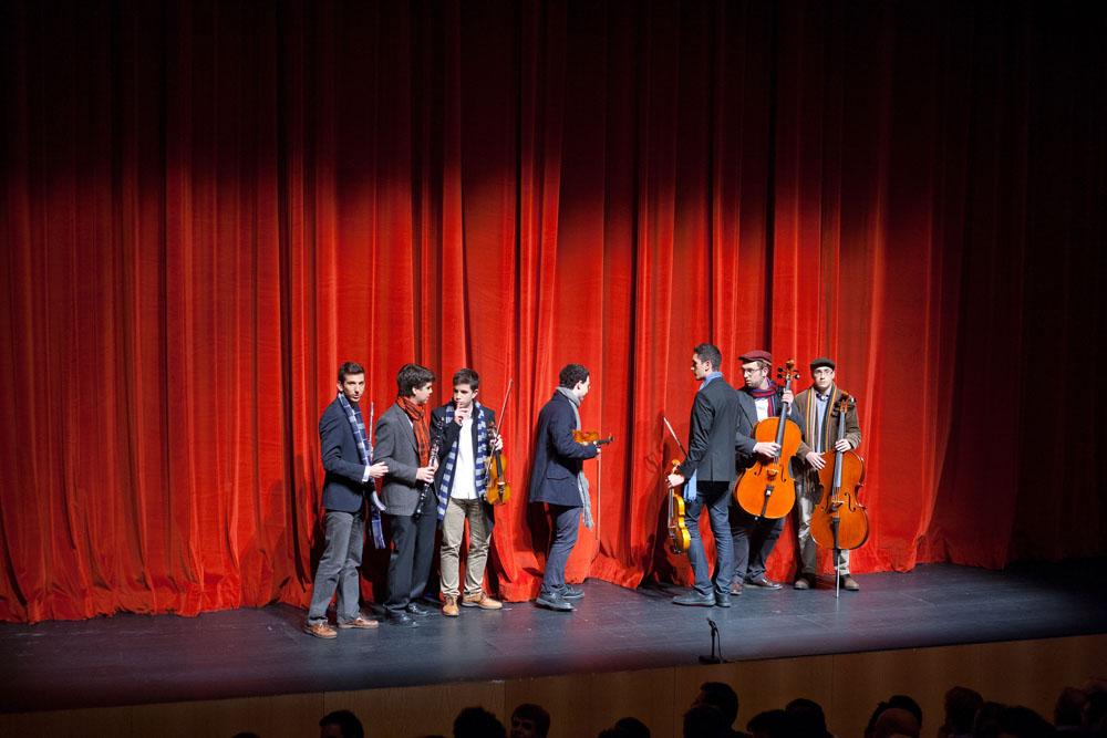 Zarzuela Bohemios. Colegio Mayor Belagua. Pamplona. Universidad de Navarra