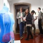 Nekane Manrique. Puerta Gótica. Colegio Mayor Belagua. Universidad de Navarra. Pamplona