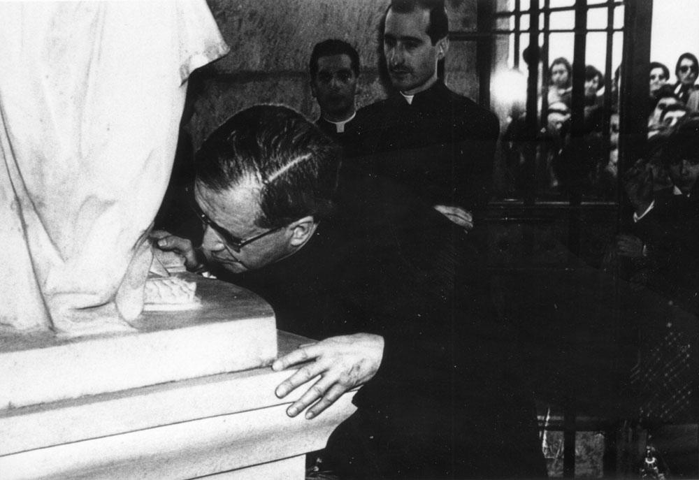 San Josemaría visitó por primera vez la ermita el 23 de abril de 1967.