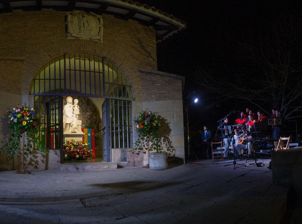 50 aniversario llegada Imagen Amor Hermoso. Colegio Mayor Belagua