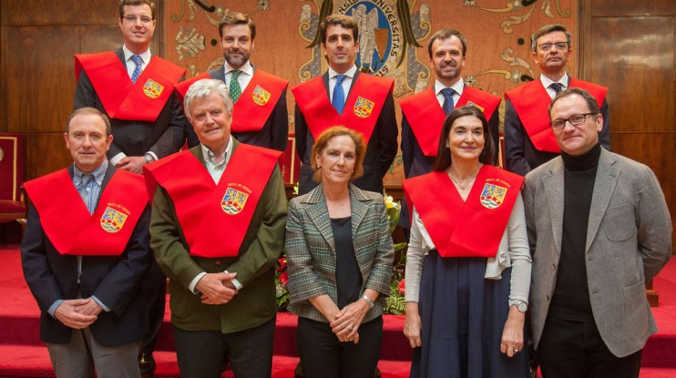 Clausura de Curso Colegio Mayor Belagua. (Foto: Manuel Castells)