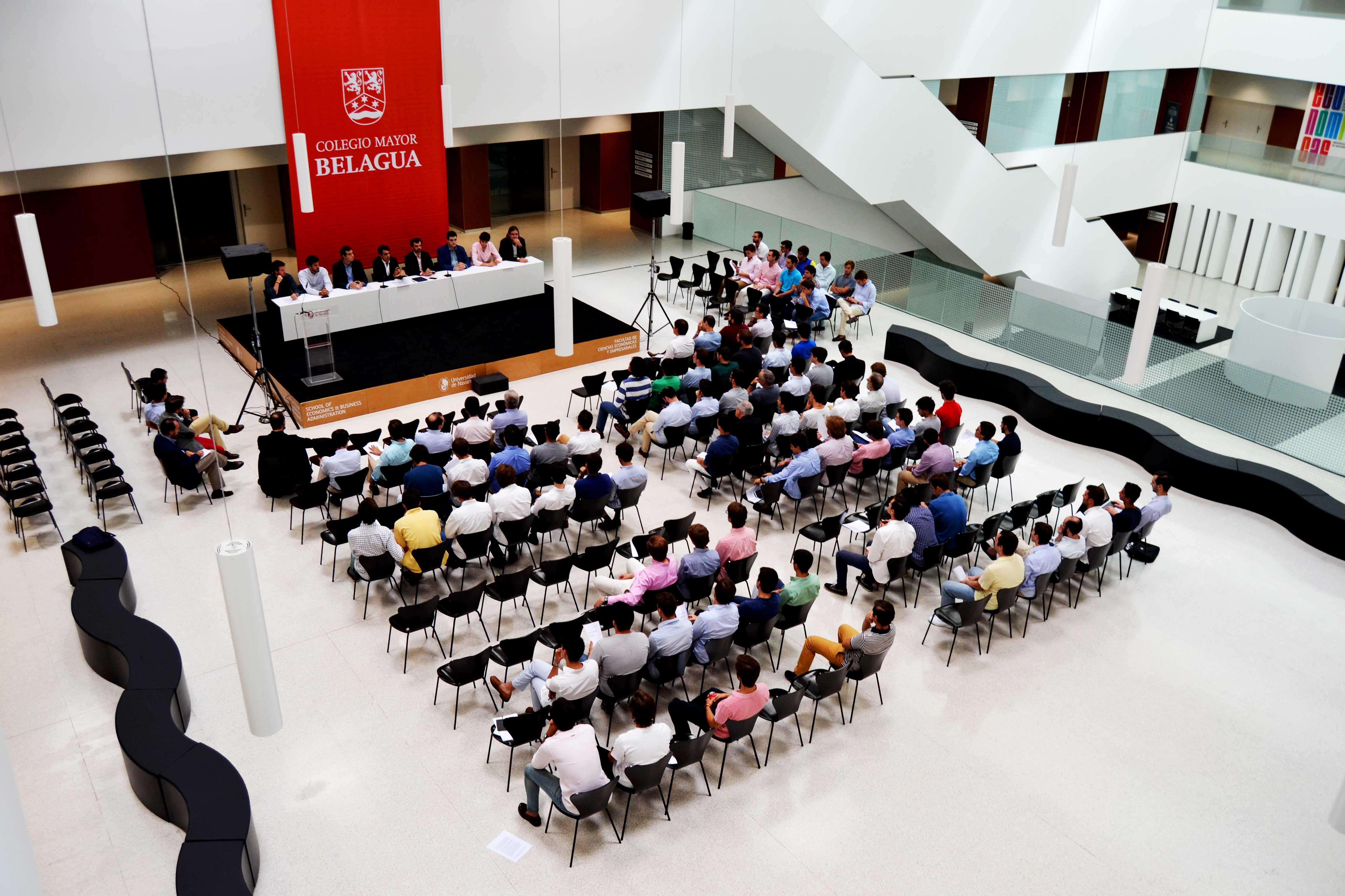 La constitución del Consejo Colegial de Belagua tuvo lugar en el Edificio Amigos de la Universidad de Navarra