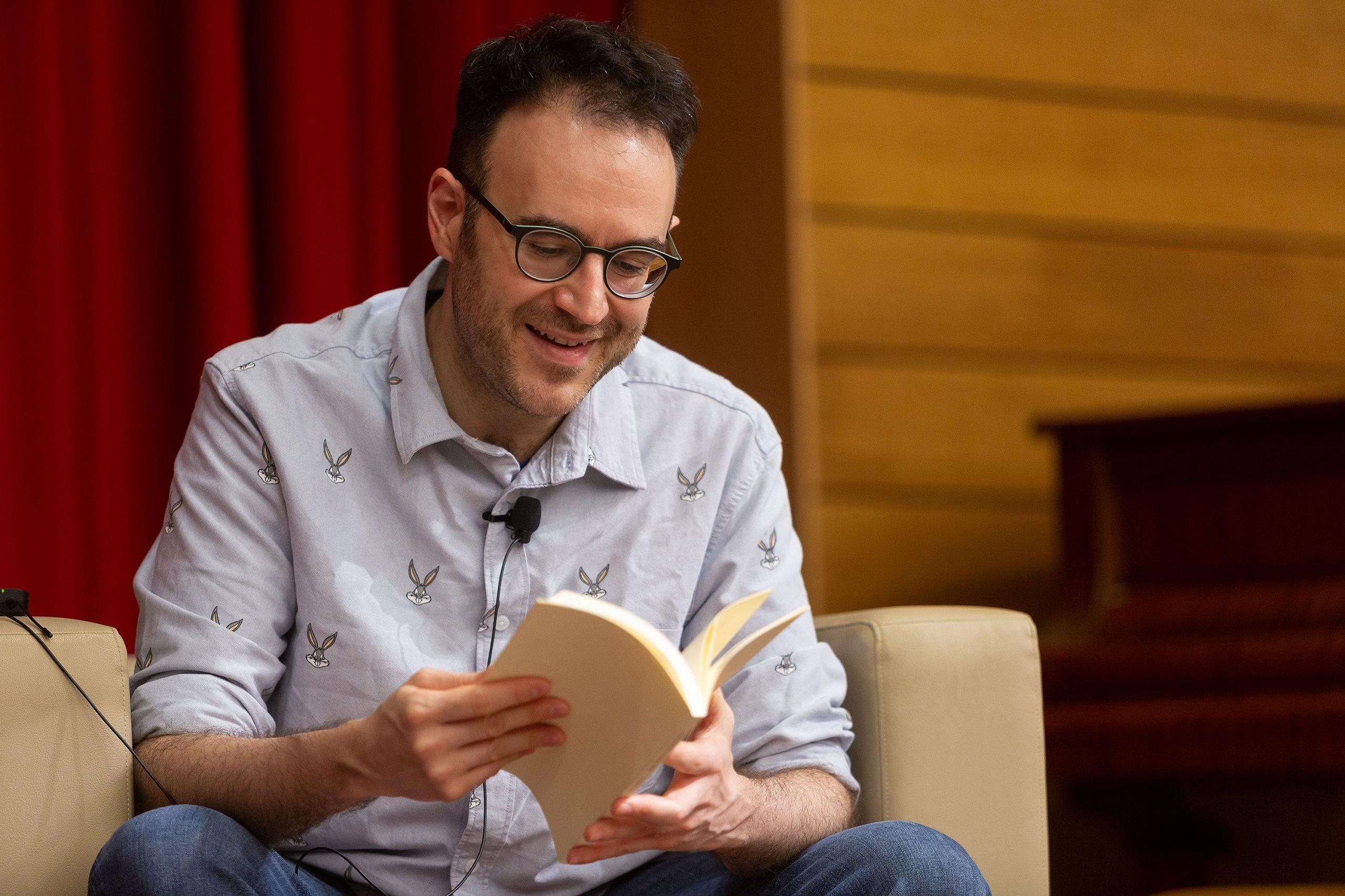 Recital de poesía con Juan Andrés García Román